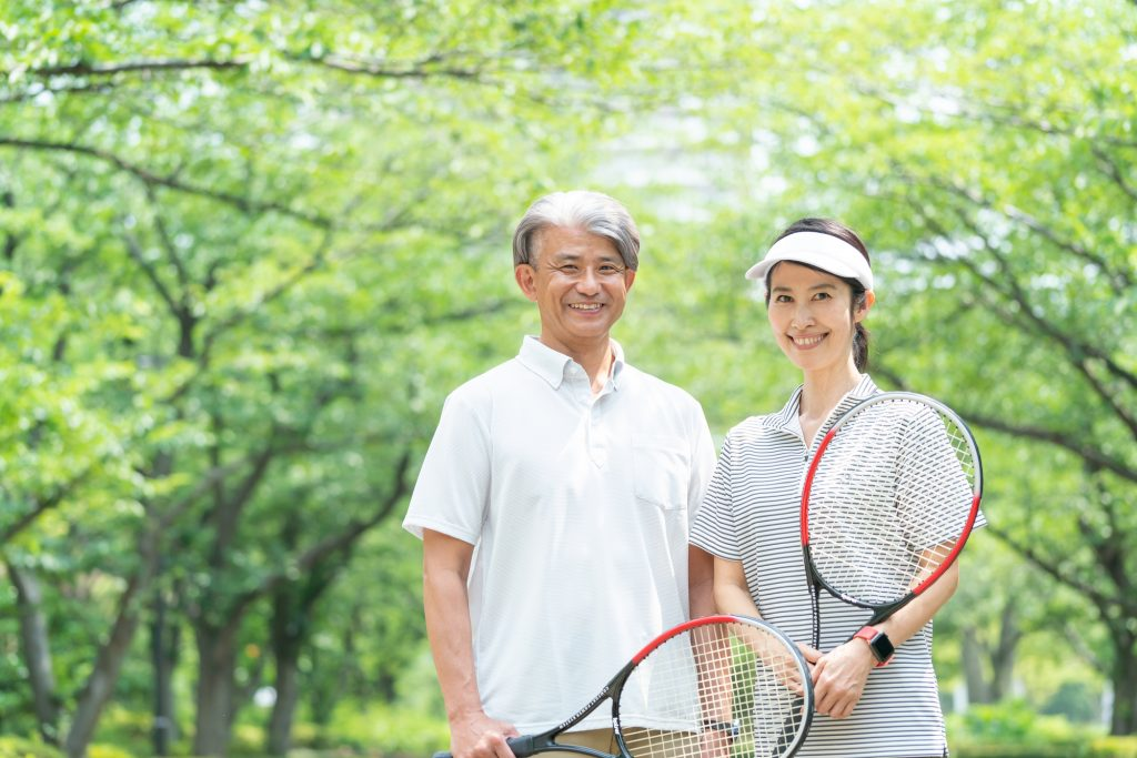大人の趣味におすすめ!~初めてのテニス~